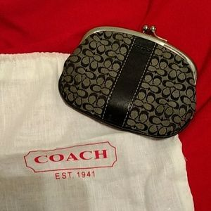 Coach Accessories - Coach change purse and dustbag